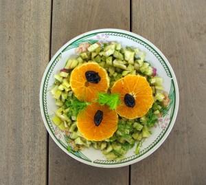Salade Italie du Sud Orange & fenouil