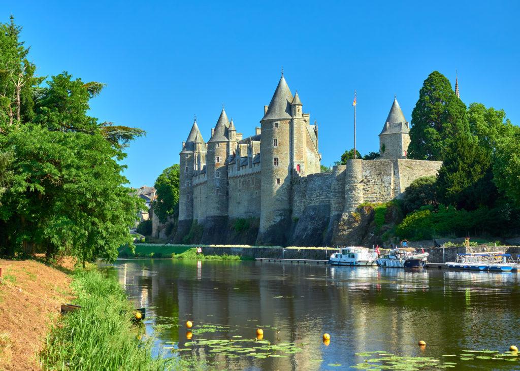 Ville de Josselin et son château